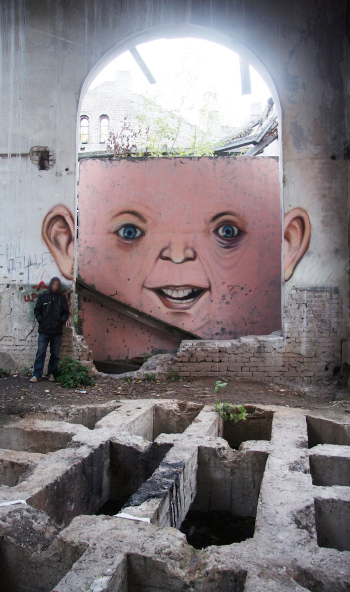 Street Art by Nikita Nomerz - A Collection 14