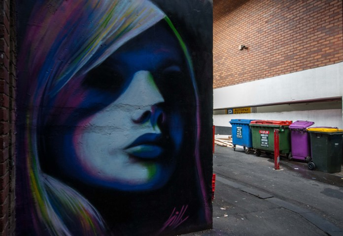 By Silly – In Chinatown, Melbourne, Australia