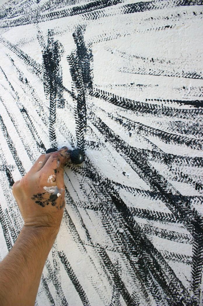 Drift - Street Art by Pejac at Nuart in Stavanger, Norway. A tribute to norwegian Edvard Munch 4