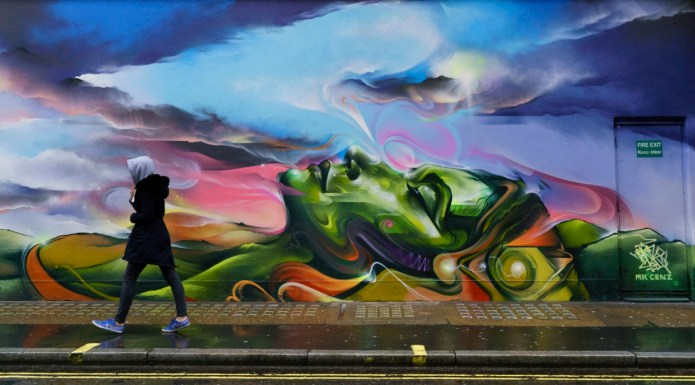 Street Art by Mr Cenz – In London, England