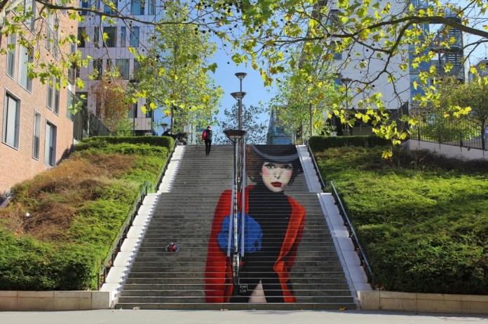 Street Art by Zag + Sia_9201 in Paris, France