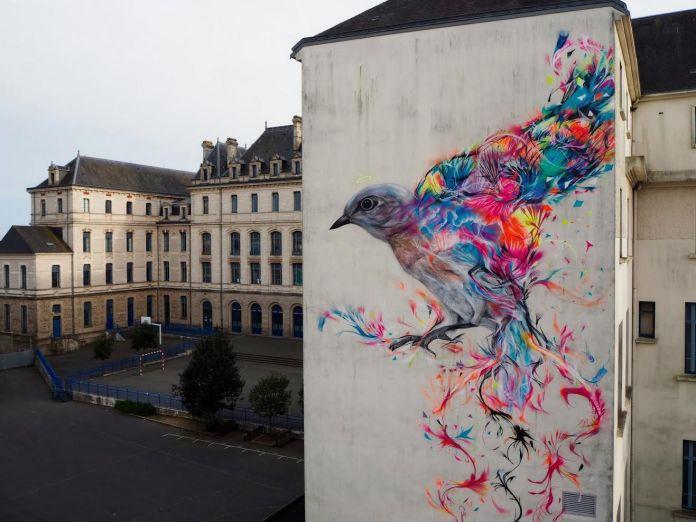 Street Art by L7m – In Vannes, France