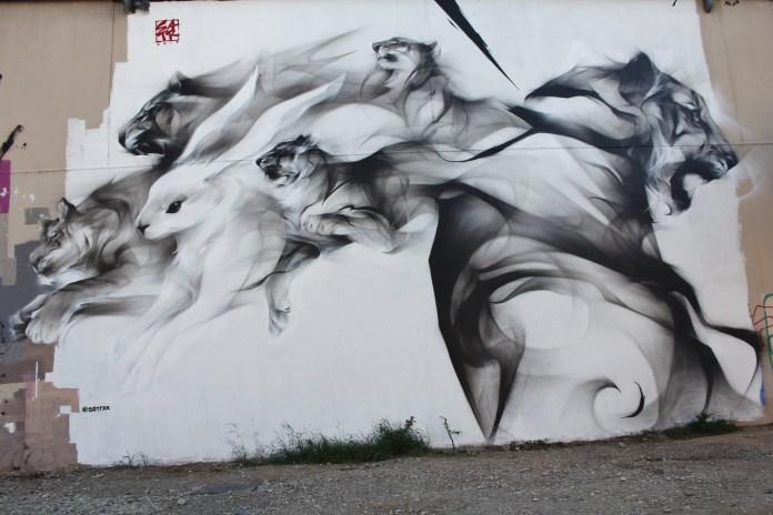 Street Art by SatrXX – In Lyon, France