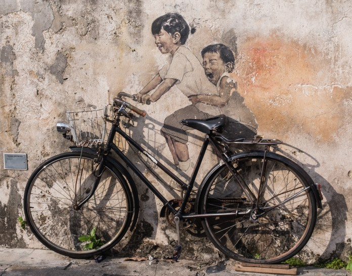 Street Art in George Town, Penang, Malaysia 2019 (61 photos)