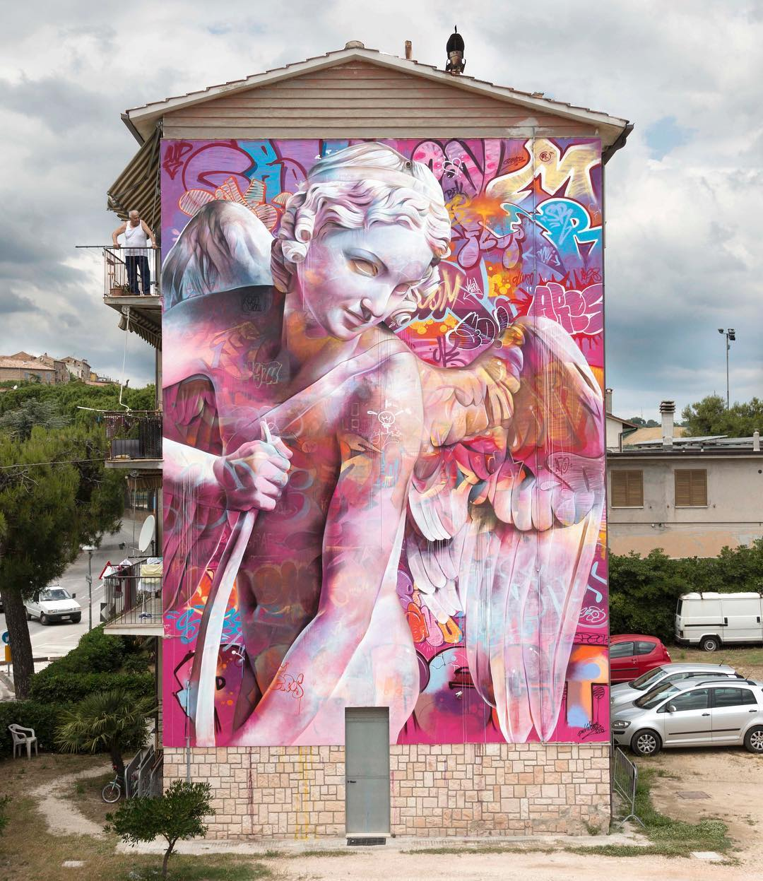 Graffiti lover - By Pichiavo in Montecosaro, Italy (3 photos) - Street Art Utopia