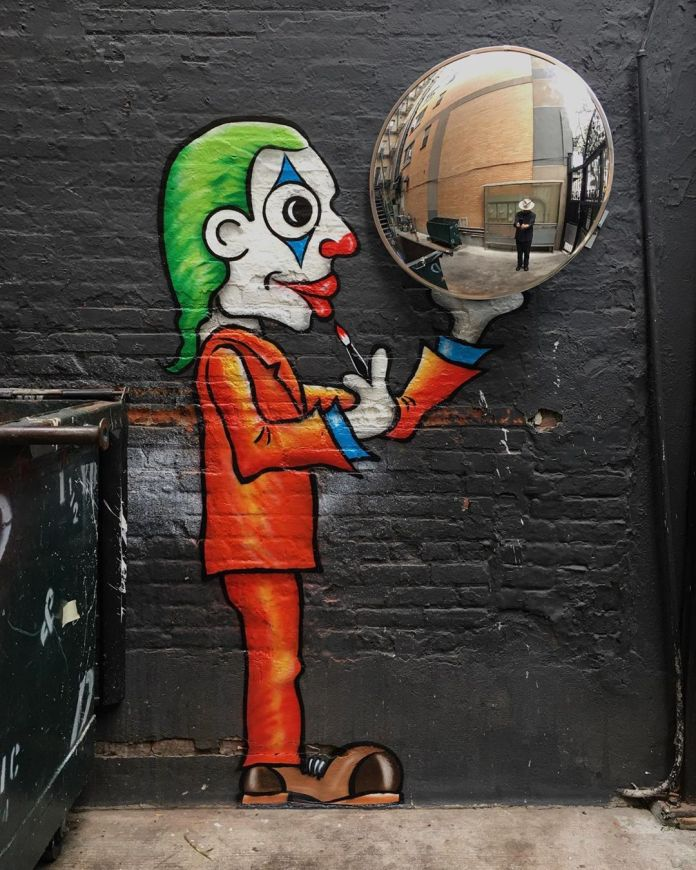 JOKER🤡 What mask do you wear? In New York, USA - Street Art Utopia