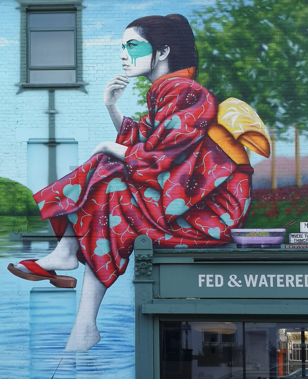 By Fin DAC in West London, England (3 photos) - Street Art Utopia