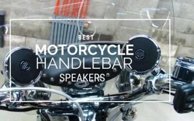 Best Motorcycle Handlebar Speakers