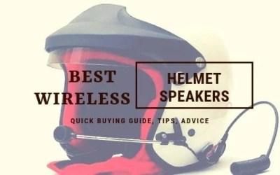 Guide to Choose the Best Wireless Helmet Speakers