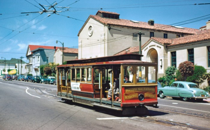 The old California line terminal at Presidio Avenue. Walt Vielbaum photo.