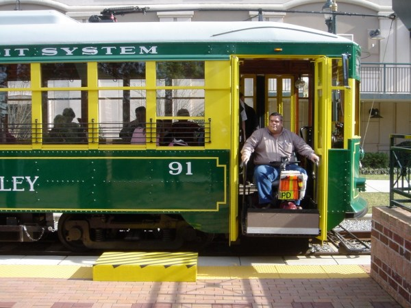 Downtown Charlotte NC Trolley