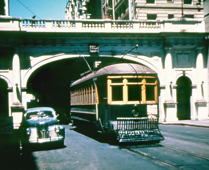 F-4a  car 4  leaving Stockton Tunnel IB  7-30-46small copy