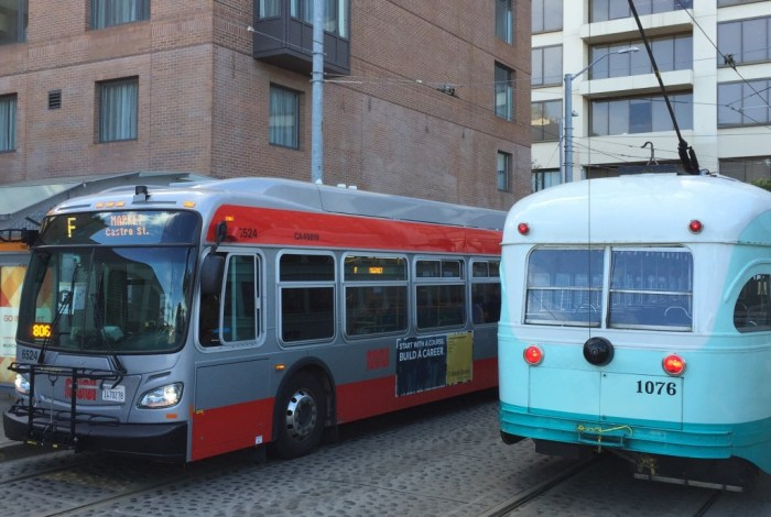 For three weeks, F-line streetcar riders from the Wharf had to transfer onto buses near the Ferry Building to reach destinations along Market Street, including the Castro. Many skipped the trip altogether.
