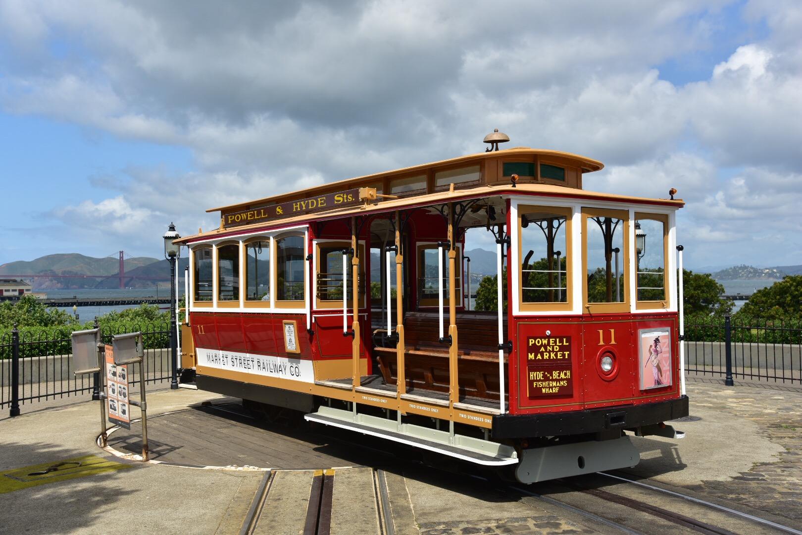 cable car 1873 | Market Street Railway