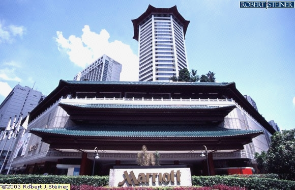 Main View Of Singapore Marriott Tang Plaza Hotel Building