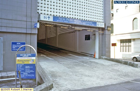 Car Park Entrance Of Parkroyal On Kitchener Road Building