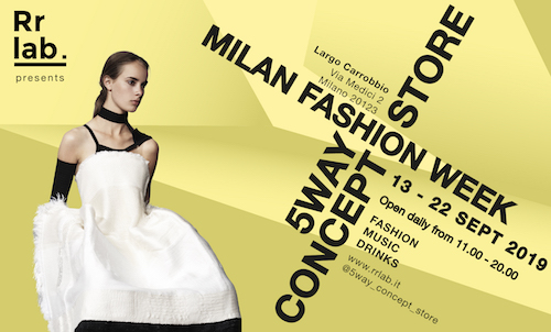 Milano Fashion Week, arriva il pop-up 5WAY Concept Store