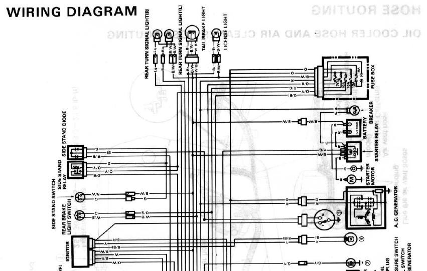 Wanted: 89 GSXR 750 wiring Diagram