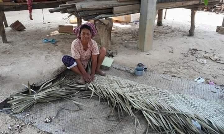 Palm tree mats