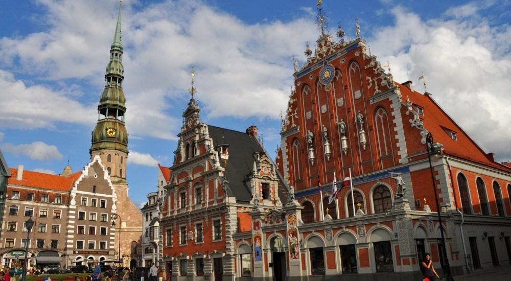 Lotyšská Riga. Paríž Pobaltia