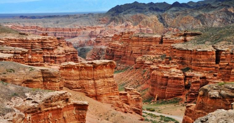 Kaňon Šaryn. Kazašský Grand Canyon