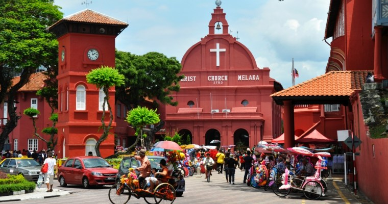 Malajská Melaka. Sen moreplavcov