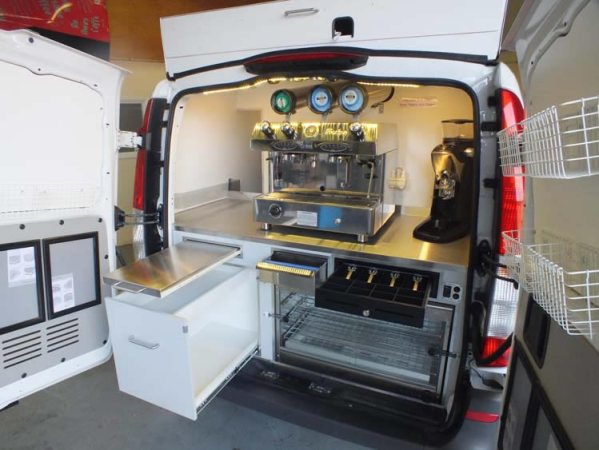 Used Mercedes Vito Coffee Van Pic1
