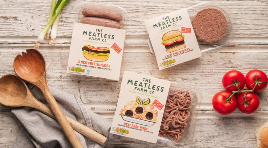 THE MEATLESS FARM CO SECURE MAJOR INVESTMENT FROM CHANNEL 4