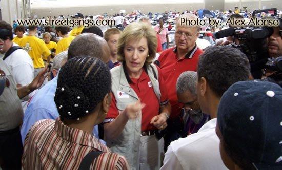 RiverFront evacuation center in Baton Rouge