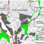 Gang Territory Map Data For Los Angeles County Streetgangs Com