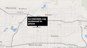 Ex-Irwindale cop sentenced to prison for sexually