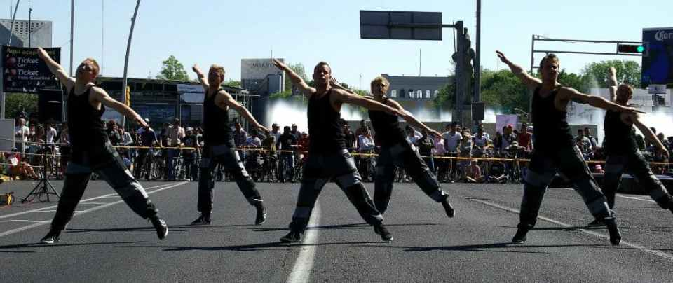 86 Street Gymnastics Performance, Mexico, Guadalajara, National Danish Performance Team2