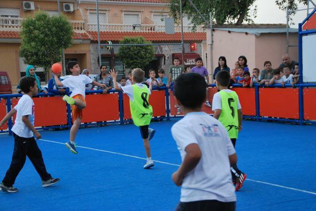 2015 Balonmano Calle Street Handball Torneo Primavera 2015 with Deportivo Retamar CB.jpg5