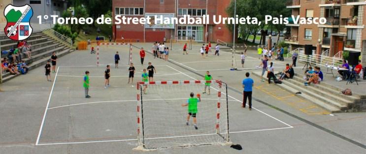 336 2015 I Torneo de Street Handball Urnieta Cover