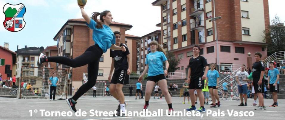 336 2015 I Torneo de Street Handball Urnieta Cover2