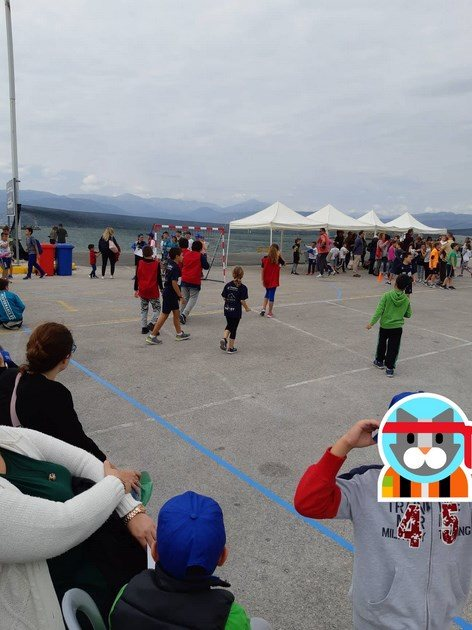 369 2018 Greece, 1st Street Handball Tournament Nafplio City Drone Video 14
