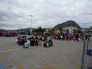 369 2018 Greece, 1st Street Handball Tournament Nafplio City Drone Video 5