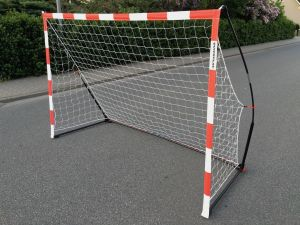 0 Quickplay Handball Junior Goal 240cm x 170cm Street Handball Goal