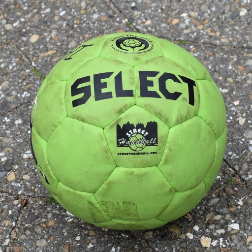 5 Select Street Handball ball