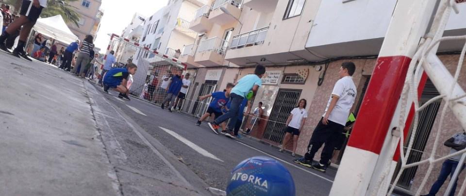 Spain, Street Handball with Club Balonmano Arona