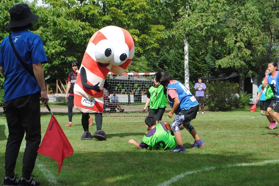 3rd Street Handball Hokkaido Exchange Tournament in Napal Mori, Onuma Park, Japan