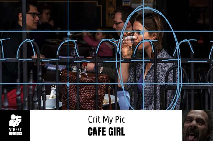 Crit My Pic Cafe Girl by Ditch Mingo