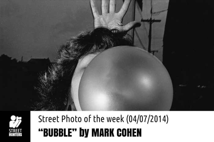 Photo of the week Mark Cohen