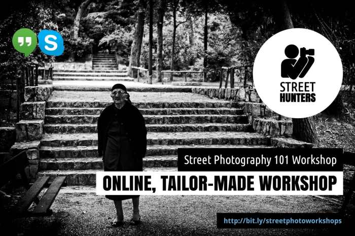 Street Photography 101 online workshop