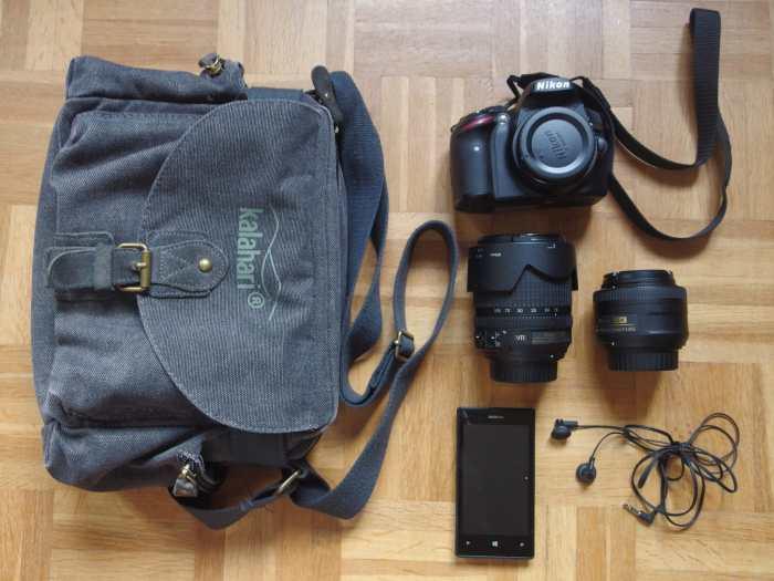 Rémy Chanteloup's Camera Bag