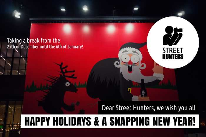 Happy Holidays Announcement