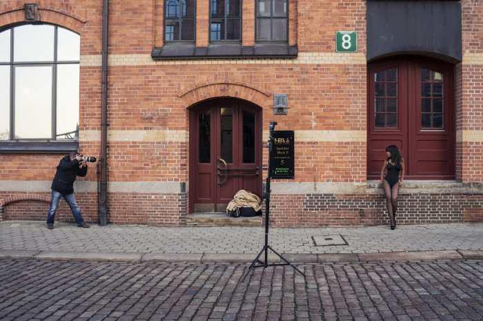 Model Shoot in Hamburg