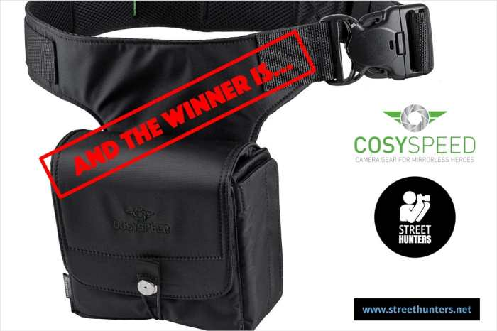 Announcing the winner of the Cosyspeed Camslinger Contest!