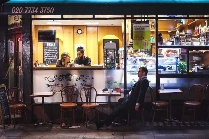 """""""The Lovers and The Robot"""" by Luigi Caruso. Shot in London, October 2013"""