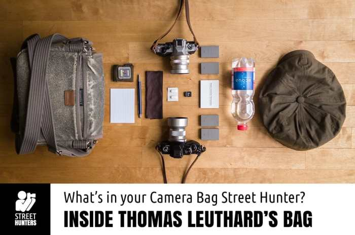 Thomas Leuthards Camera Bag promo